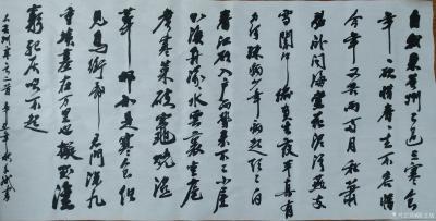 陈文斌日记-书法家陈文斌录苏东坡《黄州寒食二首》。【图1】