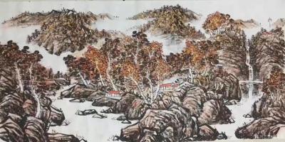 马培童收藏-对话唐寅山水画,潘玮萱评马培童(51)   唐寅苏州人,吴中四才子之一。在画史【图2】
