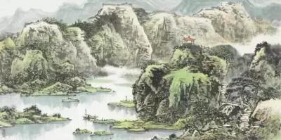 临摹山水画需要注意的问题-兴艺堂值班客服
